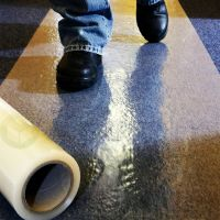 CARPET PROTECTION FILM SELF ADHESIVE PROTECTOR 600MM x 50 ...