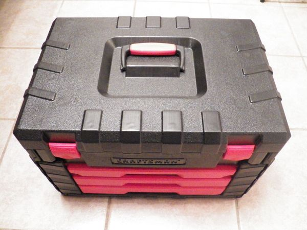 EMPTY Brand NEW CRAFTSMAN 255 Piece TOOL BOX EMPTY (Made ...
