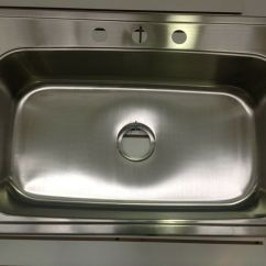 Stainless Steel Kitchen Sinks 33 X 22 Islands With Stools 33