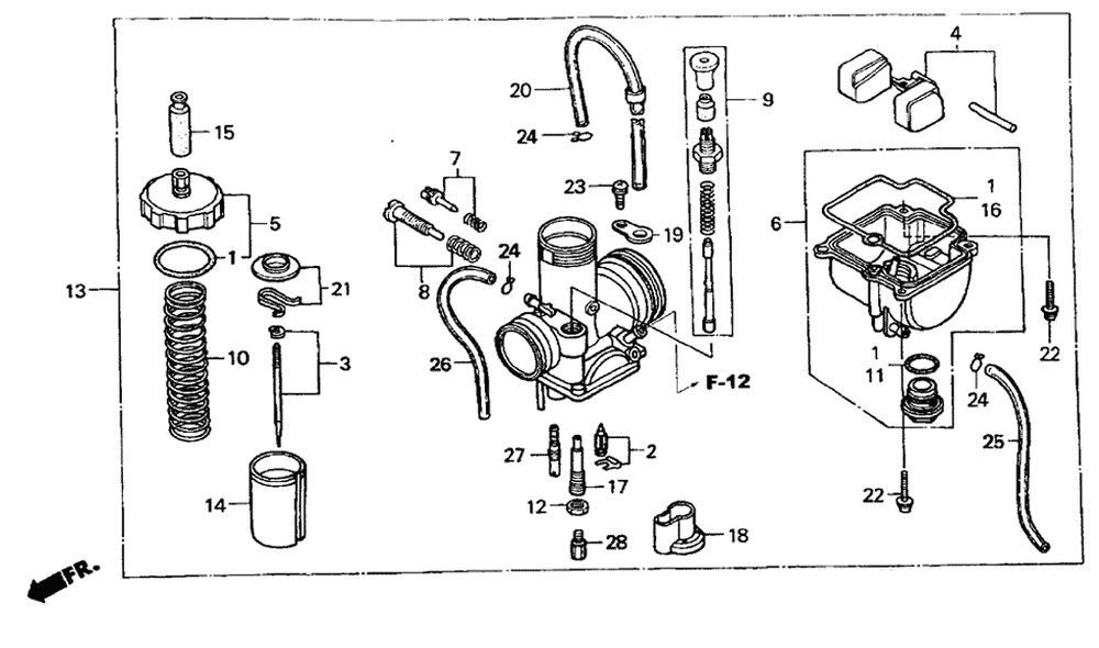 Carburetor For 2 Stroke Polaris Scrambler 50 Predator ATV