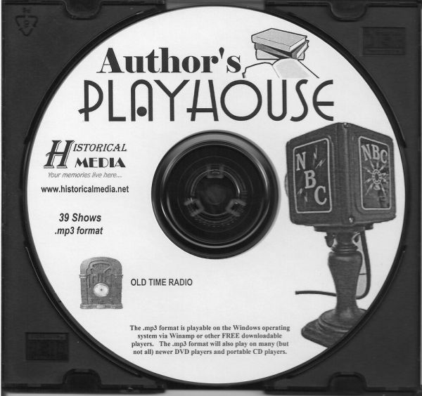 Author' Playhouse - 39 Shows Time Radio In Mp3