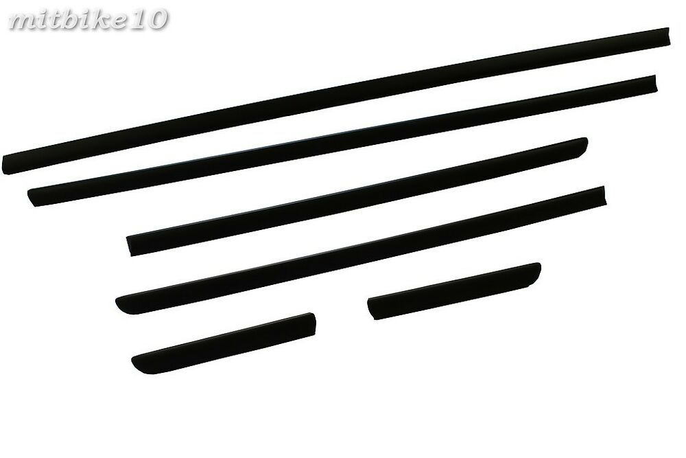 1999-2005 BMW E46 Body Door Side Mouldings Set 4DR 3