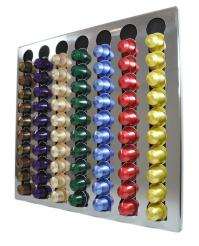 NEW Nespresso Coffee Capsules 70 Pods Wall Holder ...