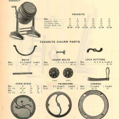 Diagram Parts Of A Horse How To Make Mapping 1914 Ad Favorite Wood Barrel Butter Churn Repair List | Ebay
