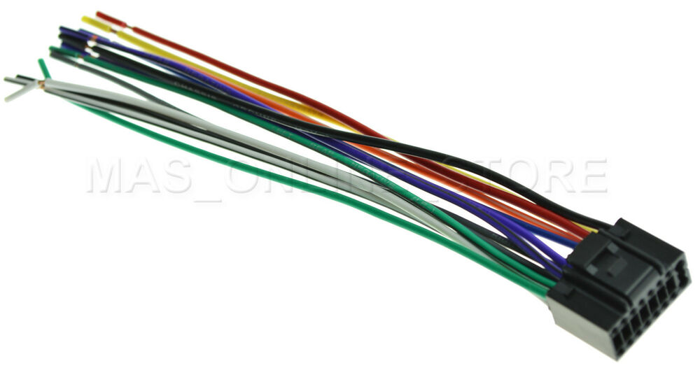 WIRE HARNESS FOR JVC KD-R310 KDR310 *PAY TODAY SHIPS TODAY