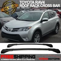13-16 Toyota RAV4 Cross Bar Roof Rack Black Top Roof Rack ...