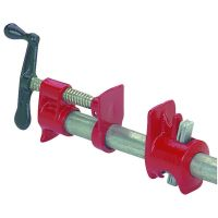 """2 Piece 3/4"""" Heavy Duty Cast Iron Pipe Clamp With ..."""