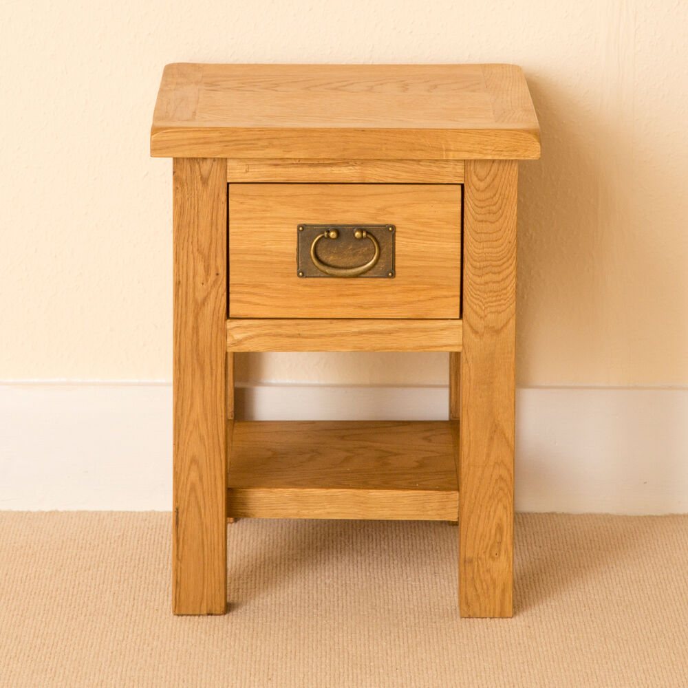 Lanner Oak Small Lamp Table Coffee Table Solid Wood