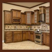 All Solid Wood KITCHEN CABINETS GENEVA 10x10 RTA | eBay