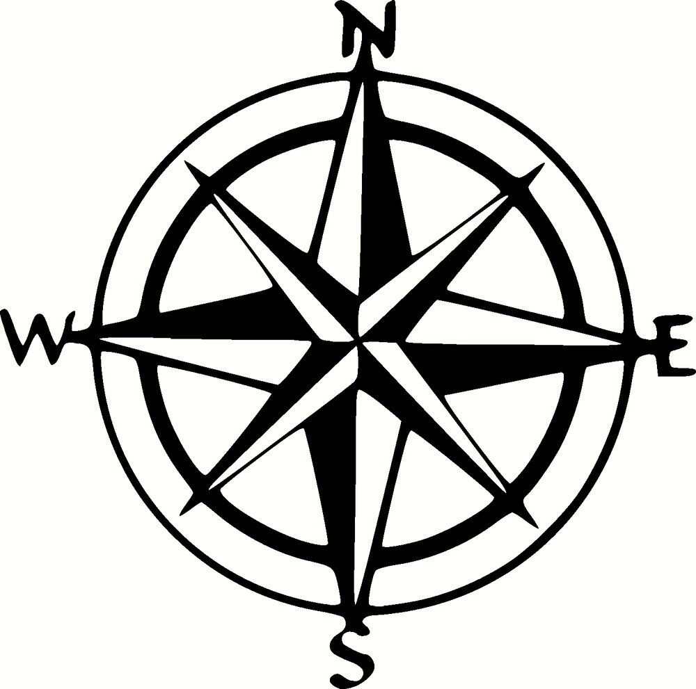 Compass Navigation STICKERS DECAL GRAPHICS DEFENDER