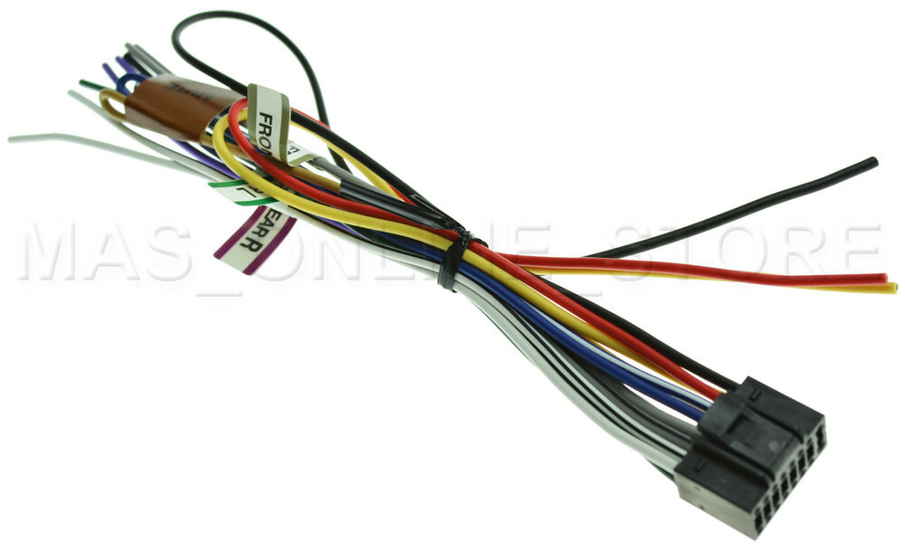 Kenwood Kdc Mp208 Kdcmp208 Genuine Wire Harness Pay Today