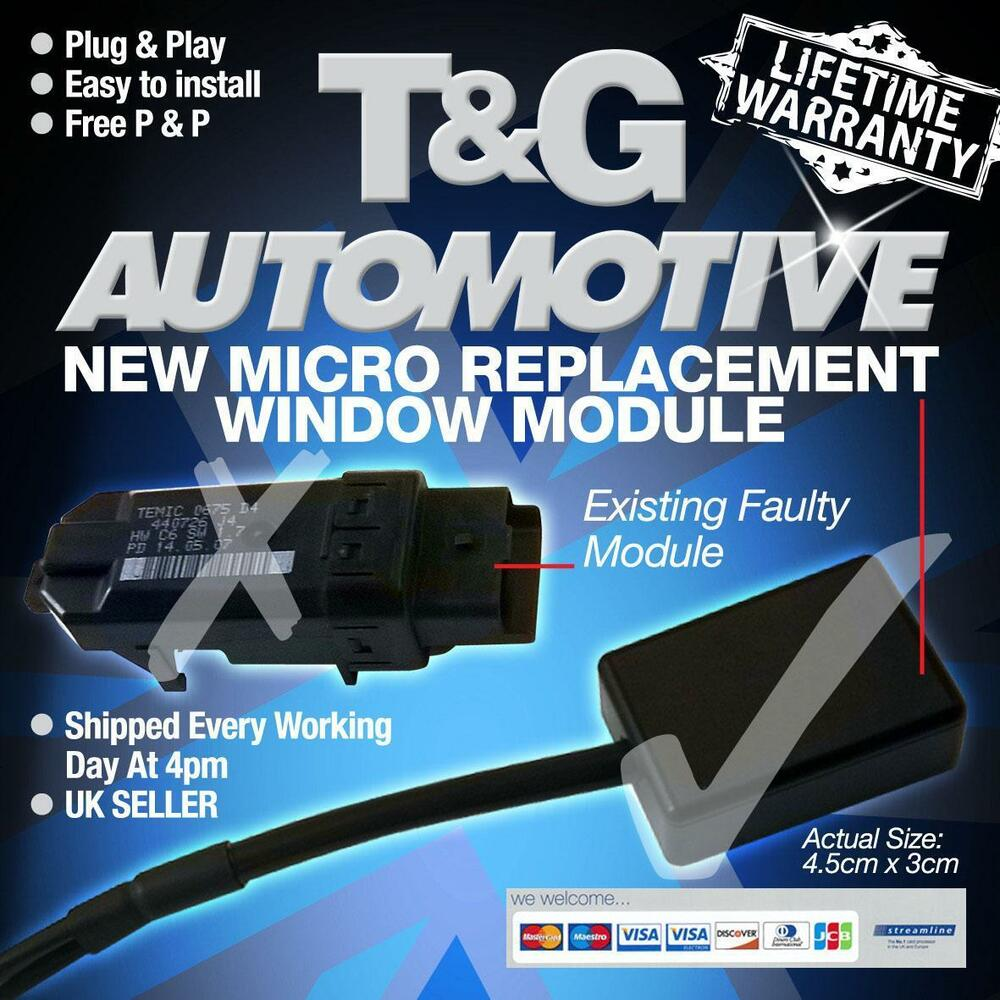 hight resolution of plug play renault megane window module replaces your temic module regulator ebay