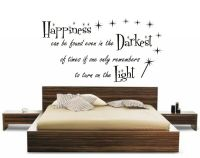 HARRY POTTER HAPPINESS FS CHILDRENS QUOTE FILM BOOK WALL ...