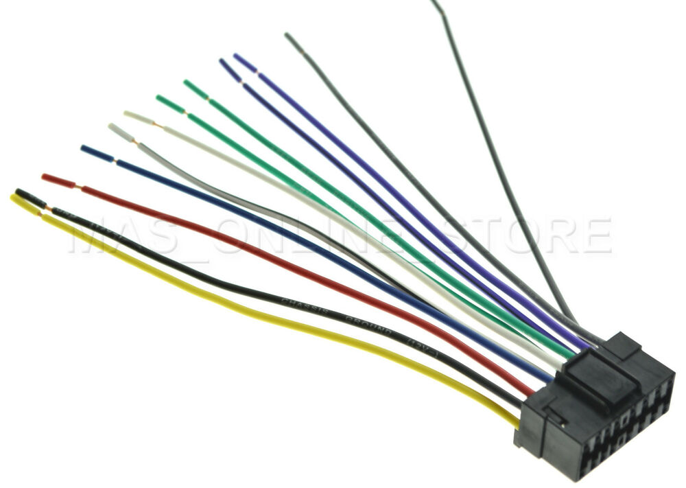 WIRE HARNESS FOR JVC KD-S16 KDS16 *PAY TODAY SHIPS TODAY