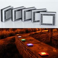 NEW Super Bright Solar 5 LED In Ground Lamp Street Outdoor ...