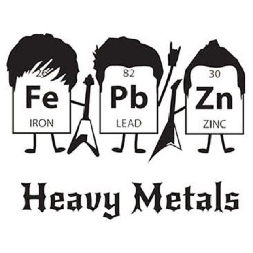 HEAVY METALS T-SHIRT (UNISEX FIT) NOVELTY PARTY FUNNY