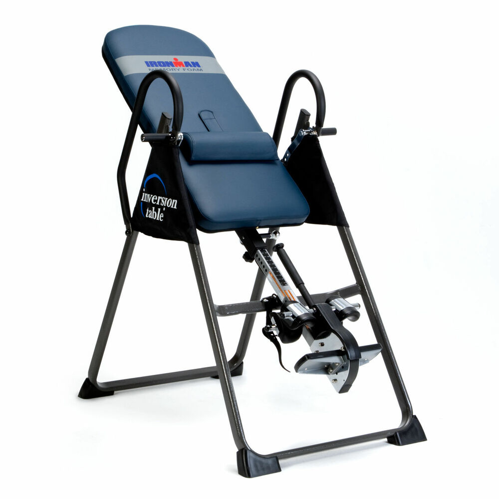 chair gym exercise system vintage steelcase chairs back pain relief inversion table ironman 4000 body power stamina | ebay