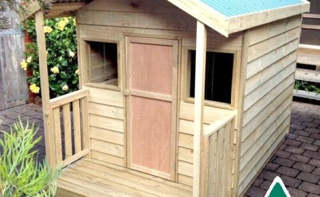 The Ruby Outdoor Wooden Timber Kids Cubby House