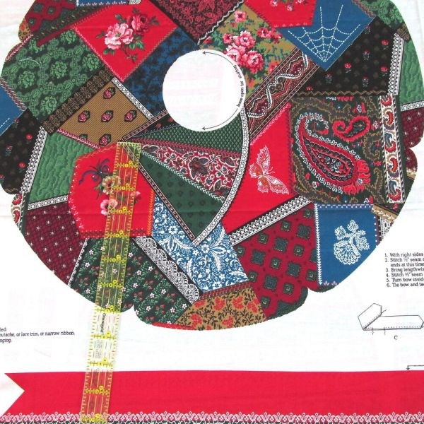 Christmas Quilt Panel Fabric