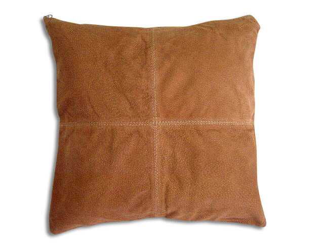 New Leather PILLOW cover CUSHION 16x16 eBay