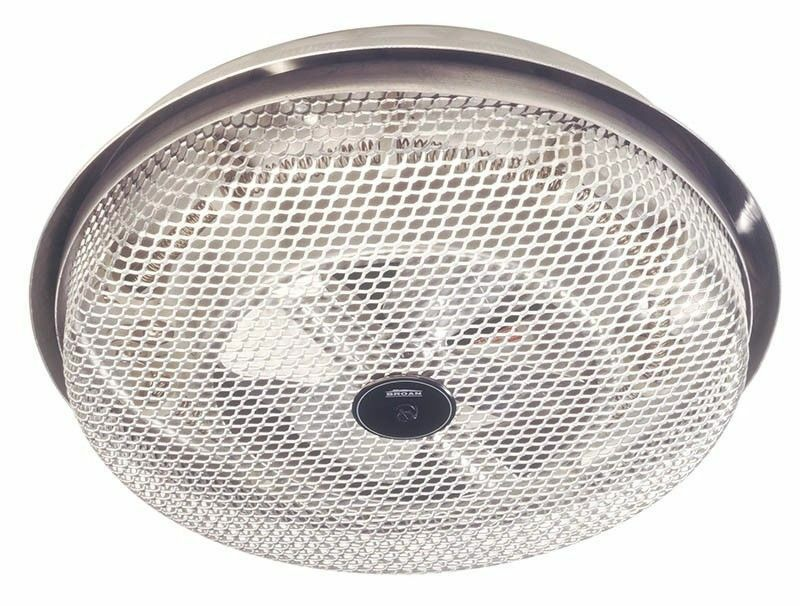 New Broan Ceiling Mount Heater Builtin Fan 1250W Bathroom