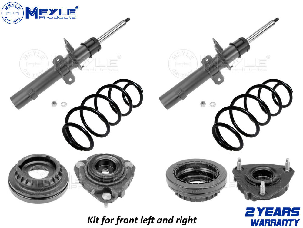 FOR FORD MONDEO MK3 DIESEL FRONT SHOCK ABSORBERS COIL