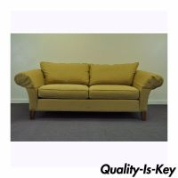 Contemporary Ethan Allen USA Traditional Style Rolled Arm ...