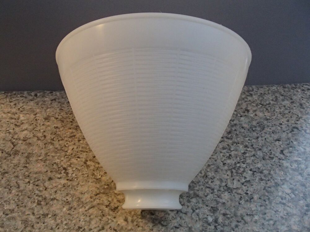 White Opal Plastic 8 Floor Table Oil Lamp IES Reflector