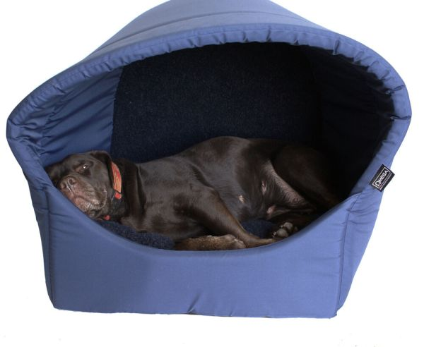Omega Hooded Pyramid Cave Igloo Dog Bed Extra Large - Dogs