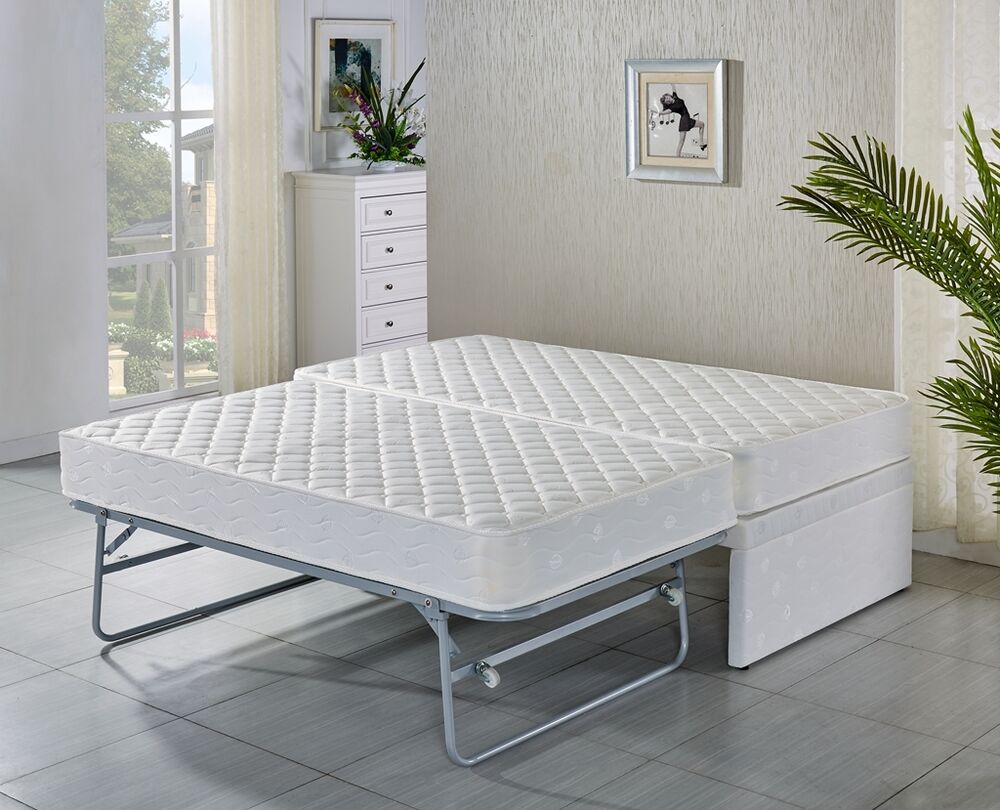 sofa bed slat nz sofas chelsea harbour single base with trundle 2 mattresses/ 5 ...