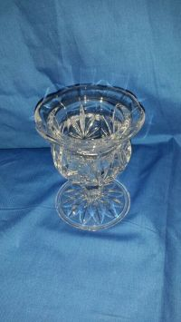Princess house lead crystal candle holder #859
