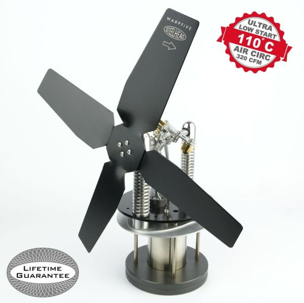 Stirling Engine Wood Stove Fans - Year of Clean Water