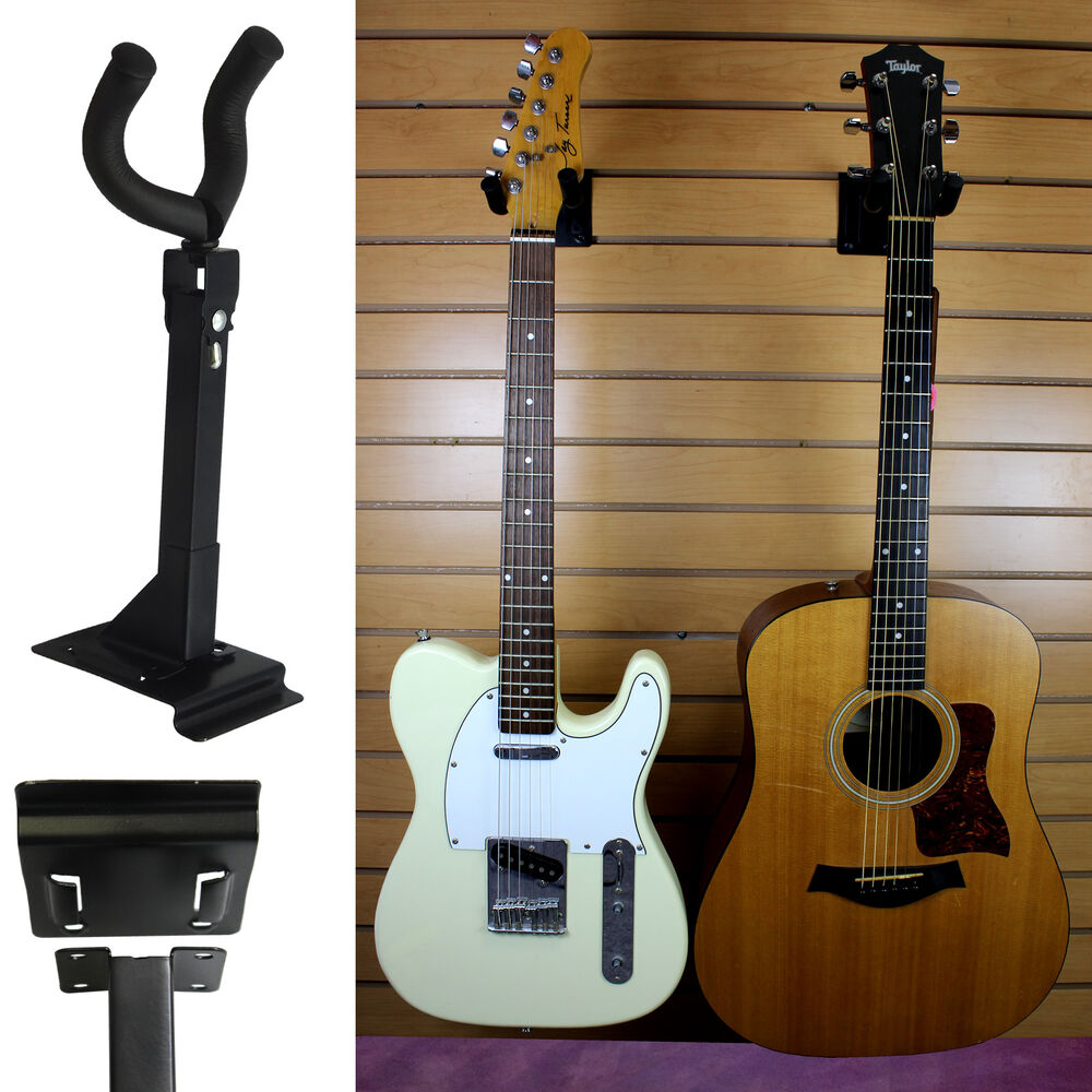 Adjustable Acoustic Electric Guitar Wall Mount Display
