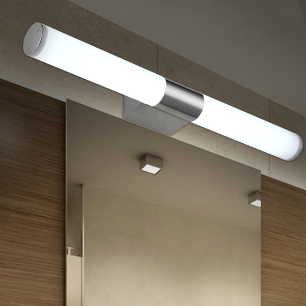 Modern Bathroom Mirror Lights LED Brief Tube Wall Light