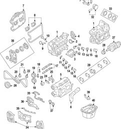 details about subaru oem 04 13 forester engine timing cover right 13573aa121 [ 808 x 1000 Pixel ]