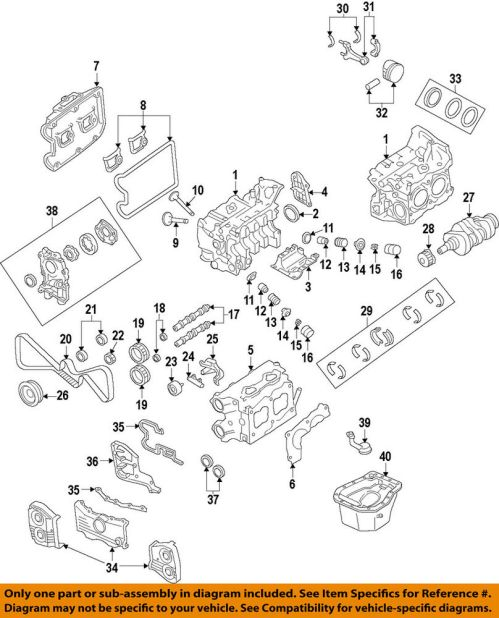 small resolution of details about subaru oem 04 13 forester engine timing cover right 13573aa121