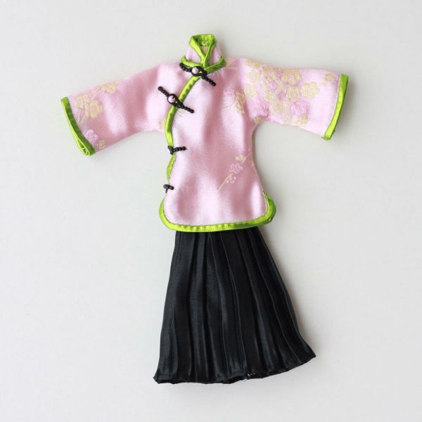 Chinese Vintage Doll Dress Fit 11 Dolls Clothes Barbie Accessories M02