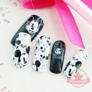 mickey mouse white set of full