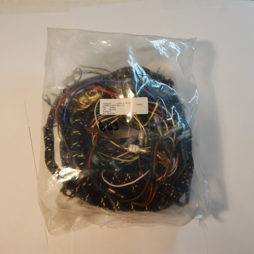 medium resolution of details about new cloth covered main wiring harness for mg mgb 1965 1967 made in uk bl622