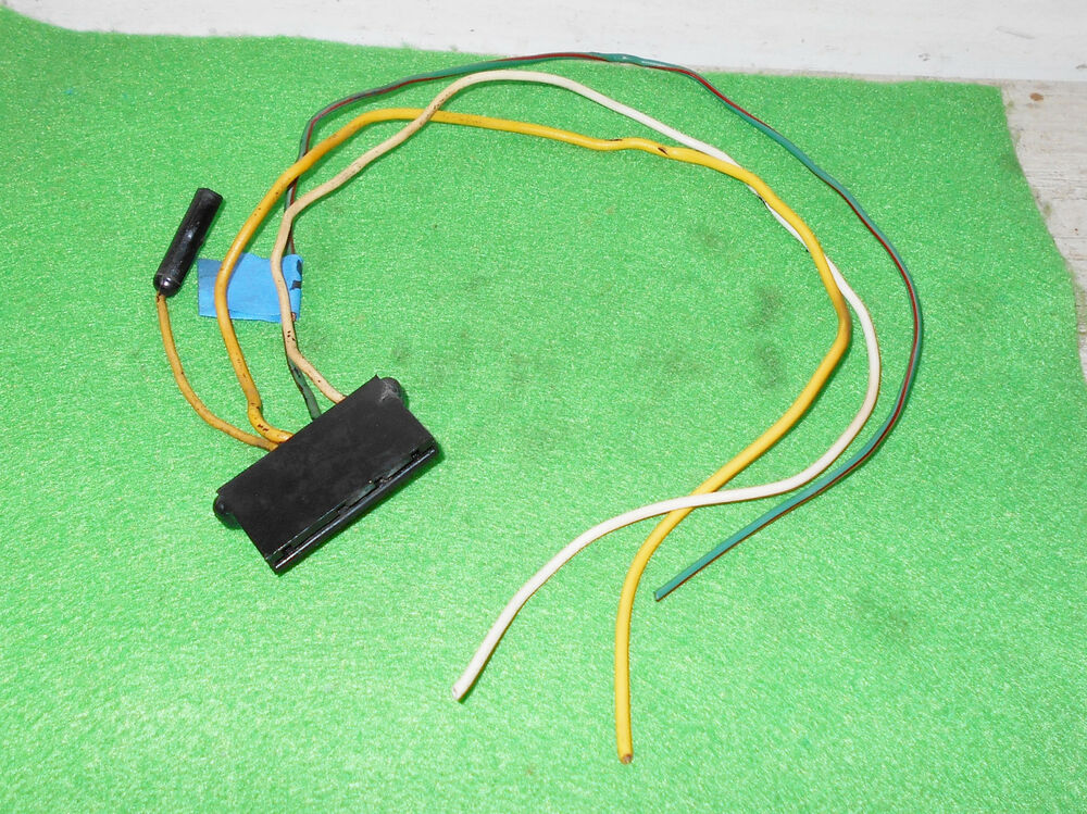 Alternator And Regulator Wiring 1967 1968 Mustang Gt Shelby Cougar Xr7 Orig Tach Voltage