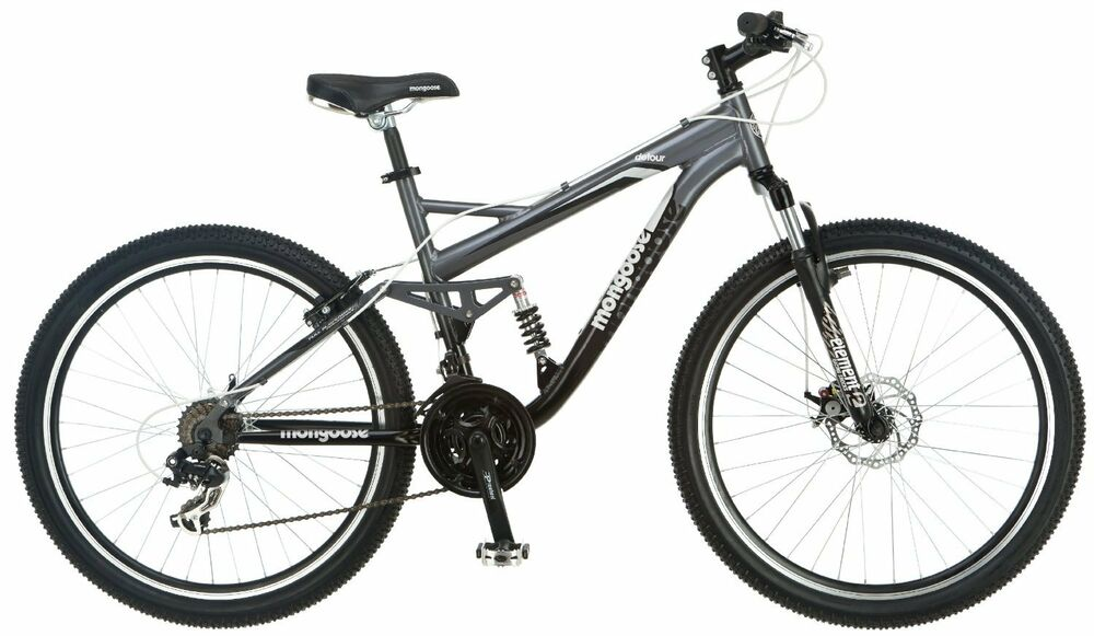mountain disc brakes bike bicycle sale mongoose mens 26