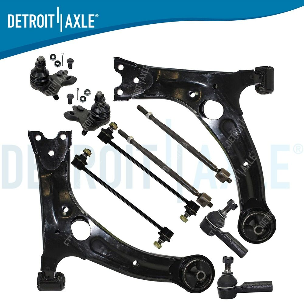 hight resolution of details about brand new 10pc complete suspension kit for 2003 2008 pontiac vibe 10 yr warranty