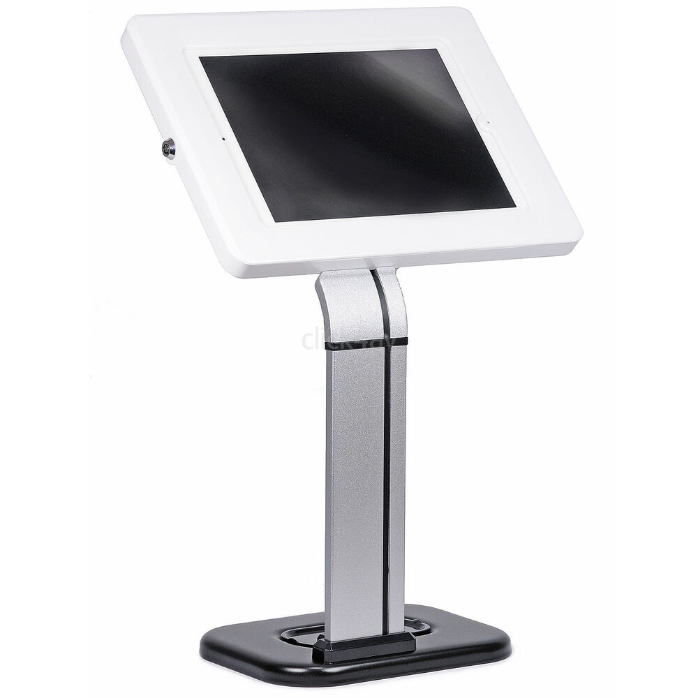 Anti Theft iPad Tablet Desk Mount Stand Secure Holder