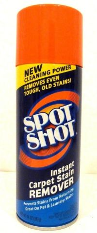 Spot Shot Instant Carpet Stain Remover Works Great On Pet