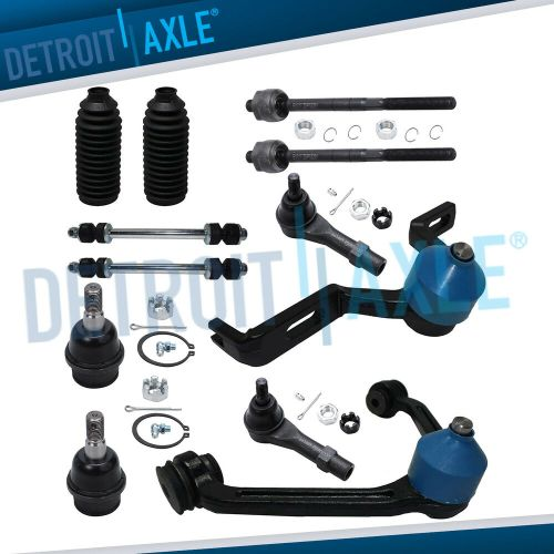 small resolution of details about ford explorer ranger mountaineer upper control arm ball joint tierod sway link