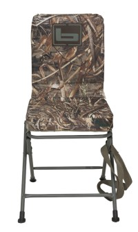 BANDED SWIVEL BLIND CHAIR PADDED SEAT HUNTING STOOL ...