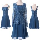 Plus Size Mother of Bride Dress with Jacket