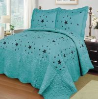 Turquoise And Brown Bedding