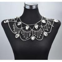 Wedding Bridal Party Crystal Shoulder Body Chain Necklace ...
