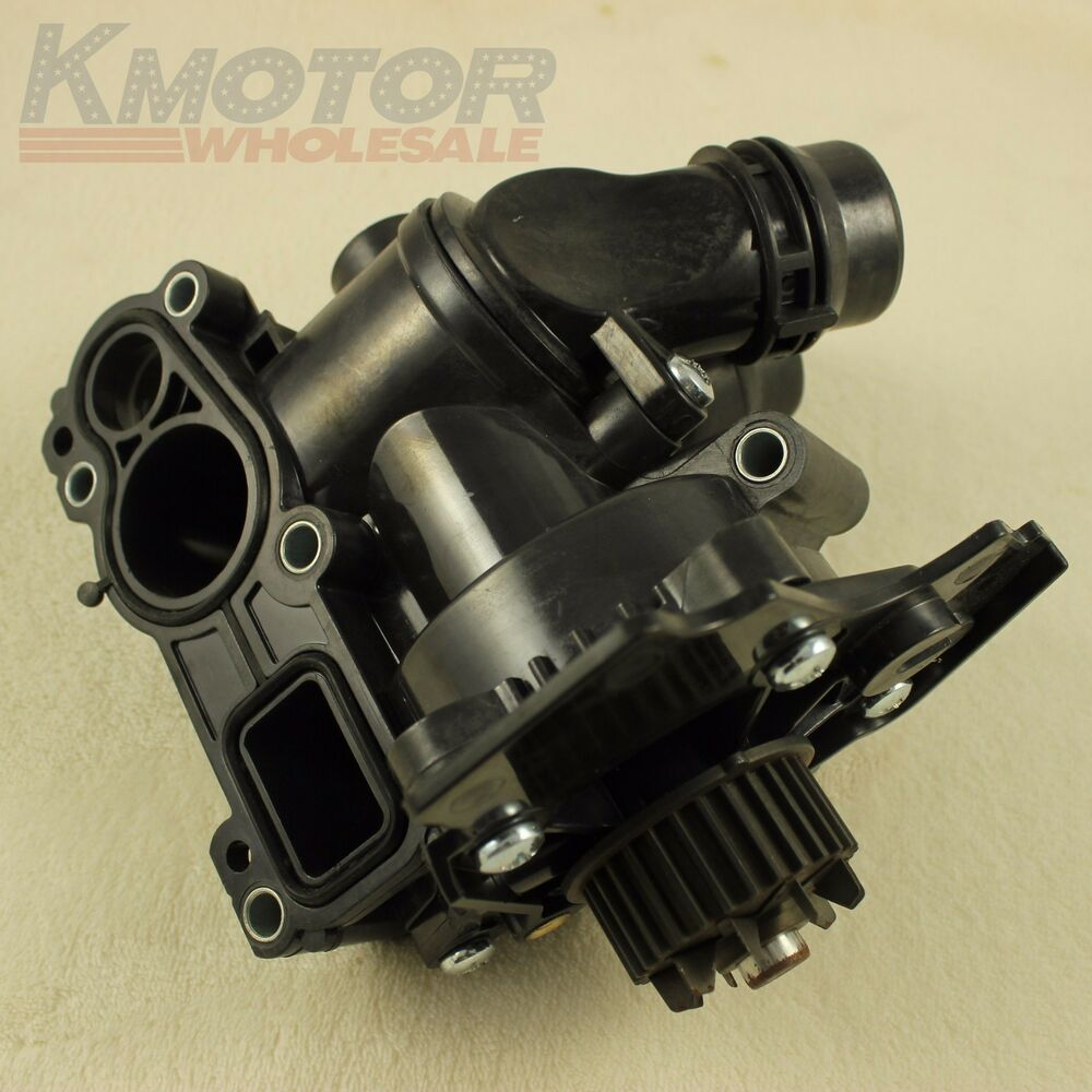 hight resolution of new water pump thermostat assembly for vw golf jetta gti passat tiguan 2 0t 1 8t